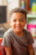 Young boy in nursery