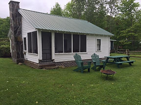 Lake W - Cabin 4 (View of the back of th