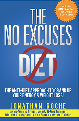 The No Excuses Diet - BOOK COVER - FRONT
