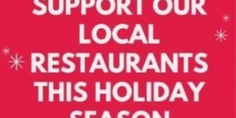 JRA Support our Local Restaurants Initiative