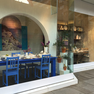 MEDITERRANEAN RETAIL WINDOW