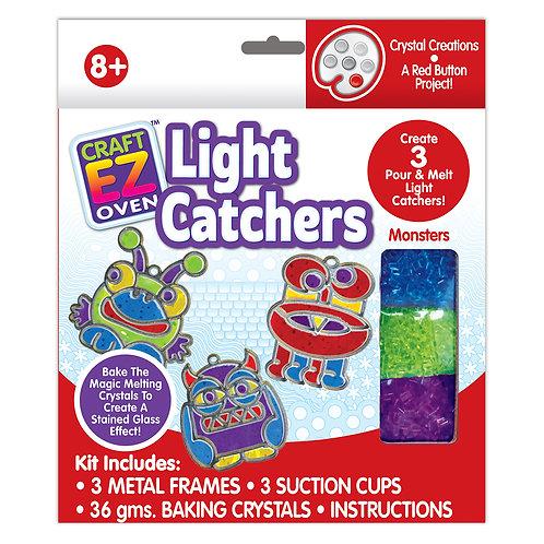 Made 4 U Studio Craft EZ Oven Crystal Creations Monster Light Catchers