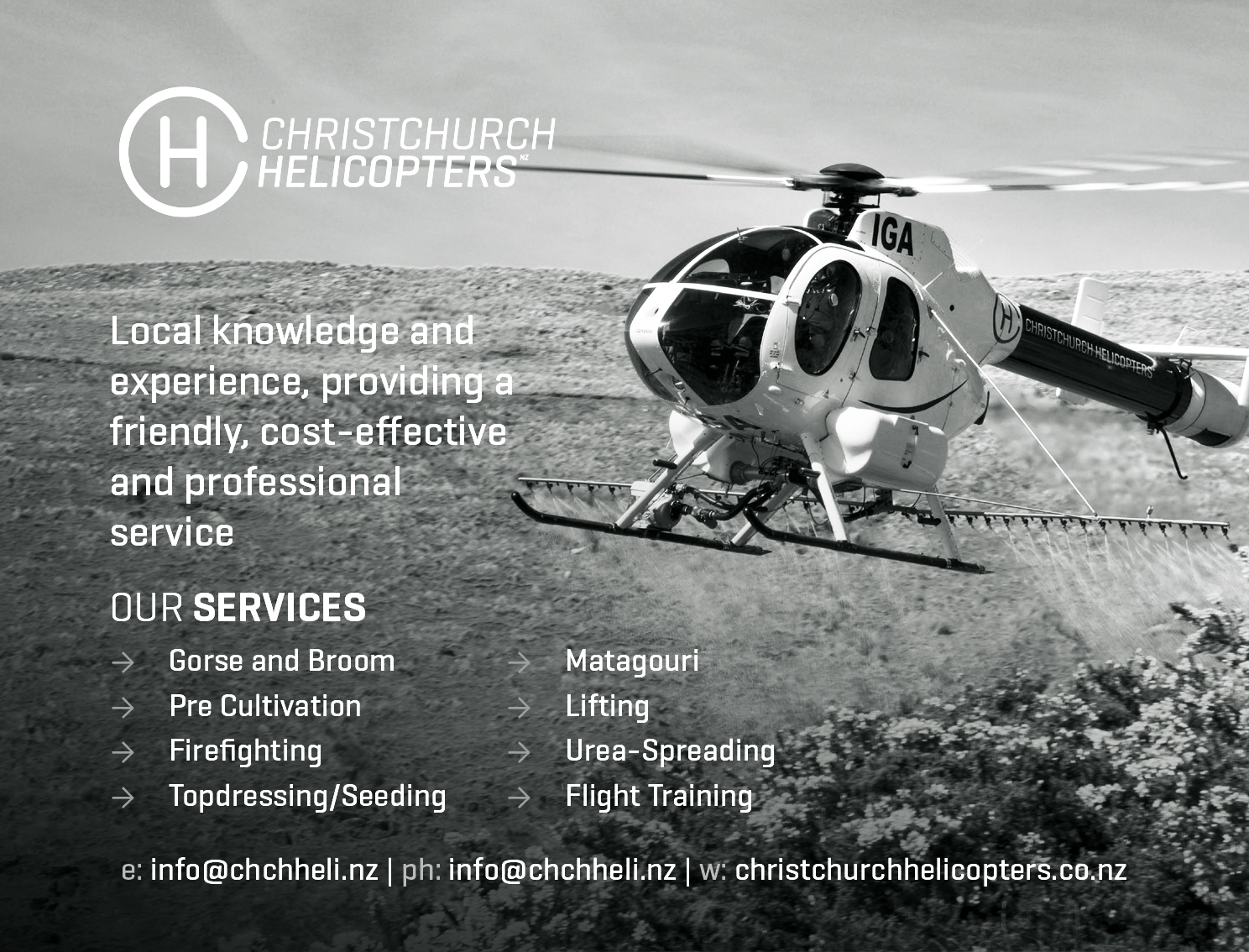 Christchurch Helicopters2021