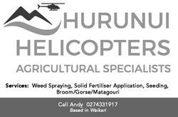 Hurunui Helicopters Logo