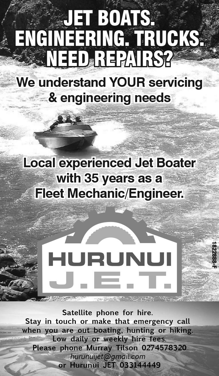 Hurunui Jet