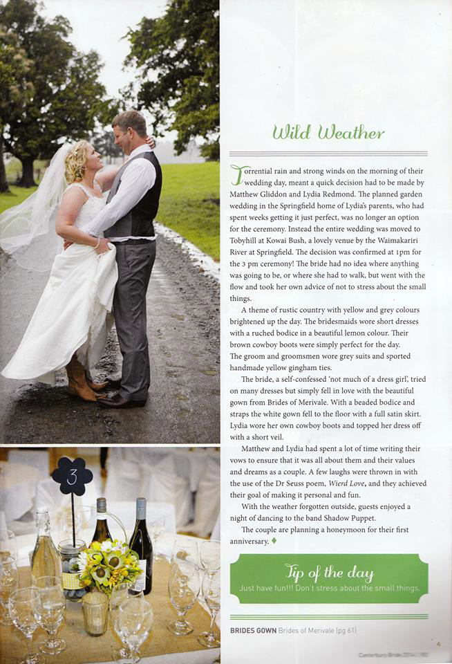 Canterbury Bride Magazine