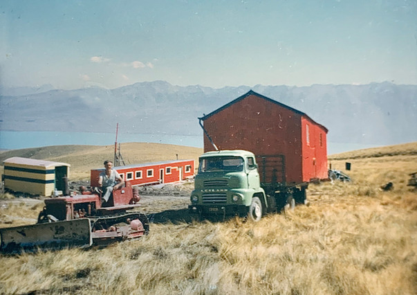 Moving lunch hut 1967