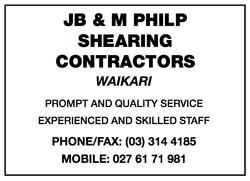 JB Philp Shearing