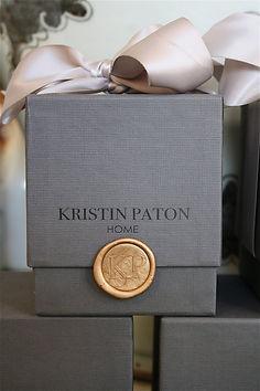 KRISTIN PATON INTERIORS SIGNATURE CANDLE