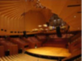 雪梨歌劇院內部