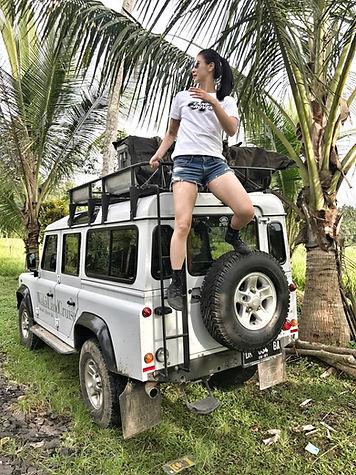 巴里島 Land Rover 吉普車