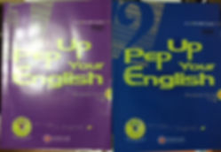 PEP up your english