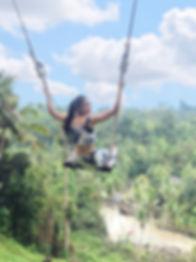 巴里島空中吊椅