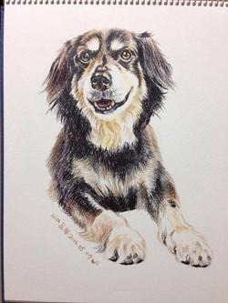EET Student Painting Dog 2