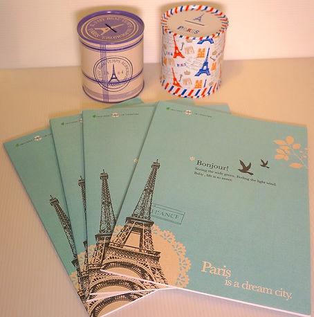 巴黎鐵塔筆記本