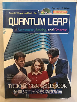 G216 Quantum Leap in Conversation, Reading, and Grammar 多益及全民英檢必勝指南