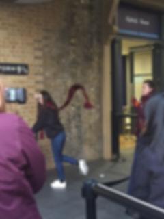 King's Cross Station Platform 3/4