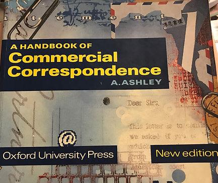 G176 A handbook of commercial correspondence