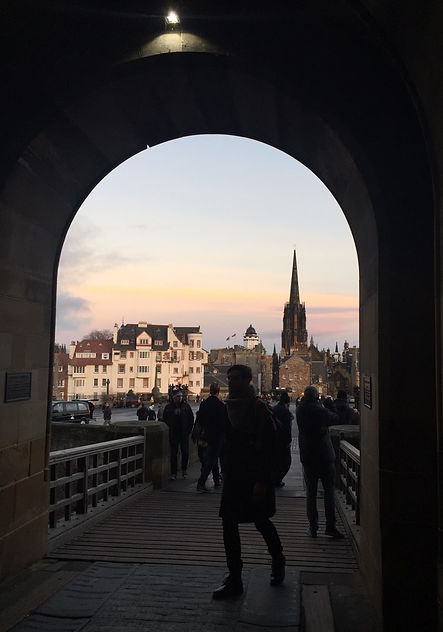 Edinburgh  愛丁堡 新舊城