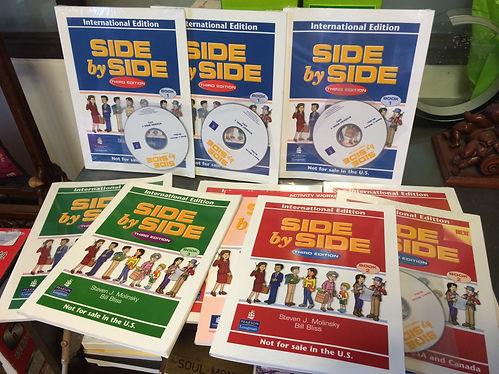 EET 生活英語會話教材-美國朗文Side by Side