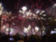 London Eye Fireworks 2017 x