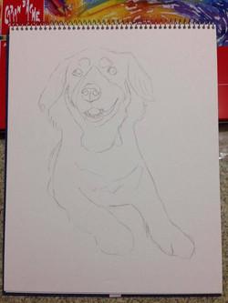 EET Student Painting Dog 3