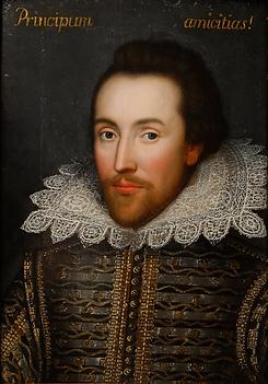 莎士比亞肖像-取自維基百科