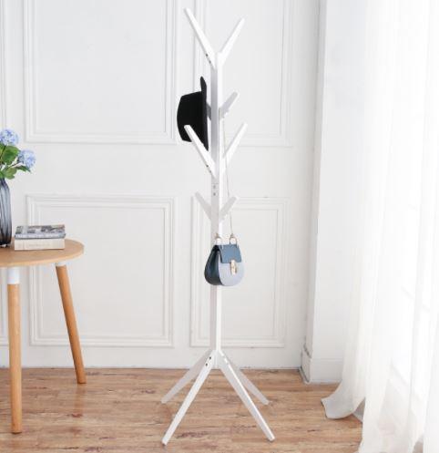 perchero de madera pino para de sala de estar expositores habitaciones bufandas sombreros maletas habrigos - Perchero De Madera