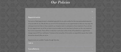 Bellezza Si - Our Policies