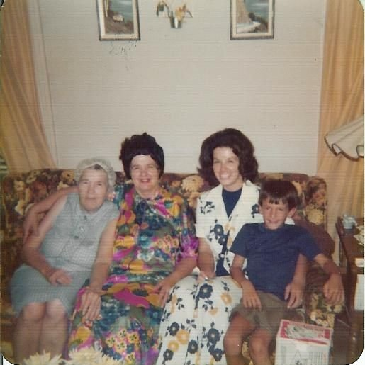 Four generations in 1975