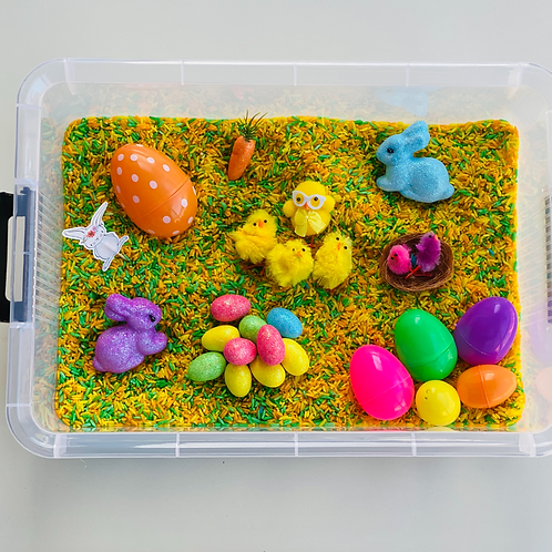 CONTENTS ONLY - Easter Sensory Kit