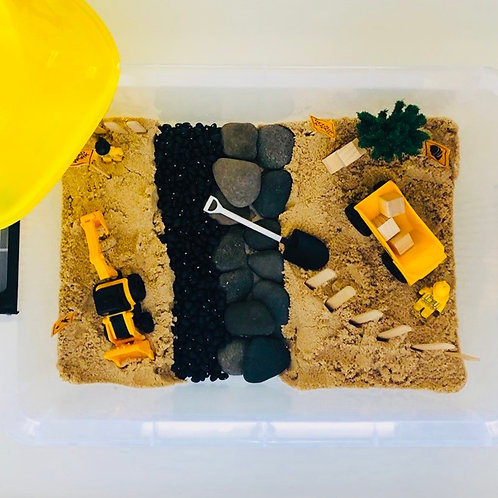 Preorder - CONTENTS ONLY - Construction Sensory Kit