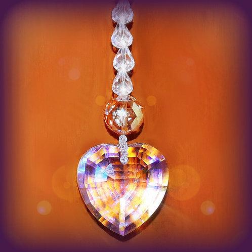 FOREVER LOVE CRYSTAL HEART