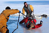 Working On Ice, Ice Water Rescue Training Courses & Classes Ontario