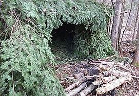 Wilderness Survival Course Sheter