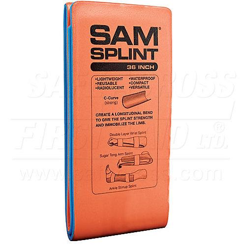 Sam Splint, 10.8 x 91.4 x 0.5 cm