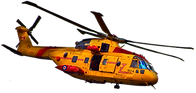 Canadian Search & Rescue Helicopter