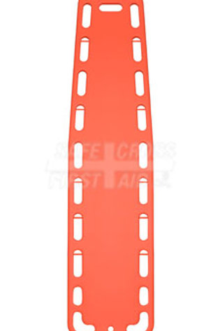 "Spinal Backboard, Plastic with Pins, 45.1 x 185 x 5.7 cm (17-3/4"" x 72-3/4"" x 2-"