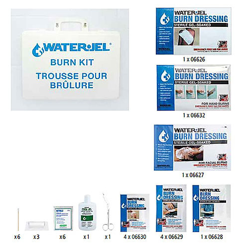 Water-Jel, Emergency Burn Kit, IX