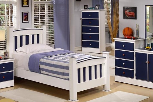 Blue & White Kids Bedroom Collection
