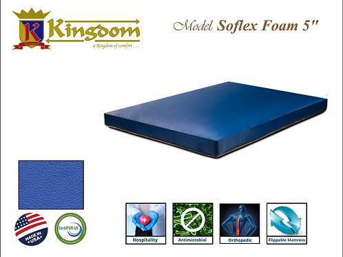 Soflex 5 inch Waterproof Mattress