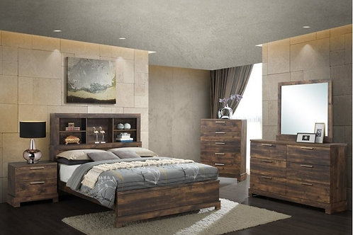 Campbell 4 Piece Bedroom Collection