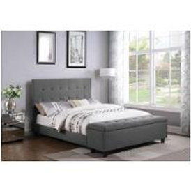 Halpert Queen Upholsterd Bed Frame