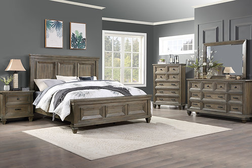 Sevilla Vintage Gray Bedroom Collection