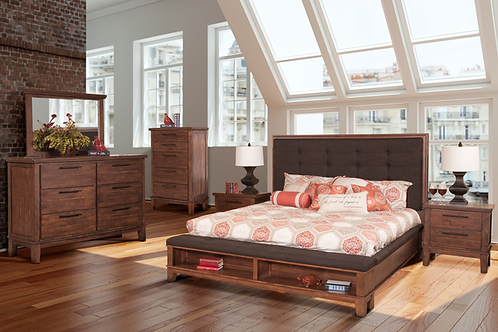 Cagney 4pc Bedroom Collection