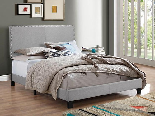 Erin Gray Fabric Bed Frame
