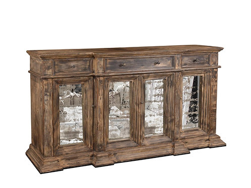 Horizon Home Venecia Antique Mirror Door 79 Console - Old World