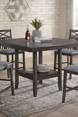 Meghan Counter HT. 5 Pce Table Set