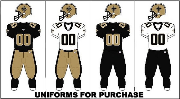 FOOTBALL UNIFORMS FOR PURCHASE