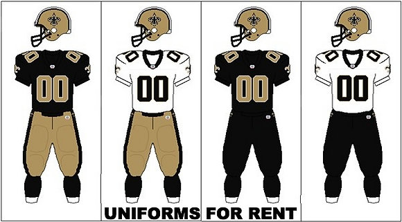 FOOTBALL UNIFORMS FOR RENT